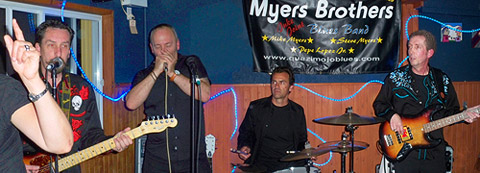 Rockin' Le Resto - the Myers Brothers Blues Band