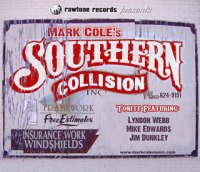 Mark Cole's Southern Collision poster