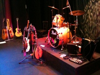 the Jigantics - set up and ready to play