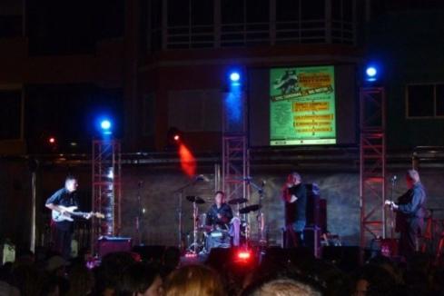 Sons of the Delta at the 3rd Playa Viva Blues Festival, Las Palmas, Gran Canaria