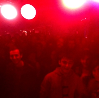 The crowd at the Arriola XXII JazzBlues Festival in Elorrio